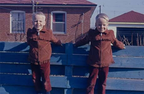 Grant and Greg Dainty's Childhood Photo